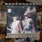 Canvas retail display for Billabong